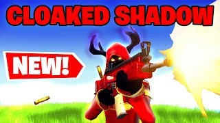 'NEW' CLOAKED SHADOW Fortnite Skin GAMEPLAY PS4 PRO Fortnite GAMEPLAY! (Fortnite Saison 7)