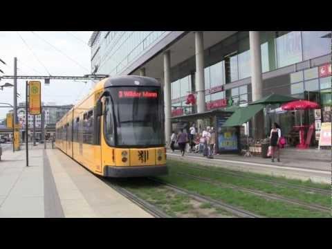 Dresden Trams - July 2012 (1080 HD)