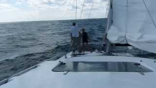 Gemini 105Mc Sailing in Buzzards Bay