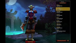 Vanilla World of Warcraft Time Capsule Characters