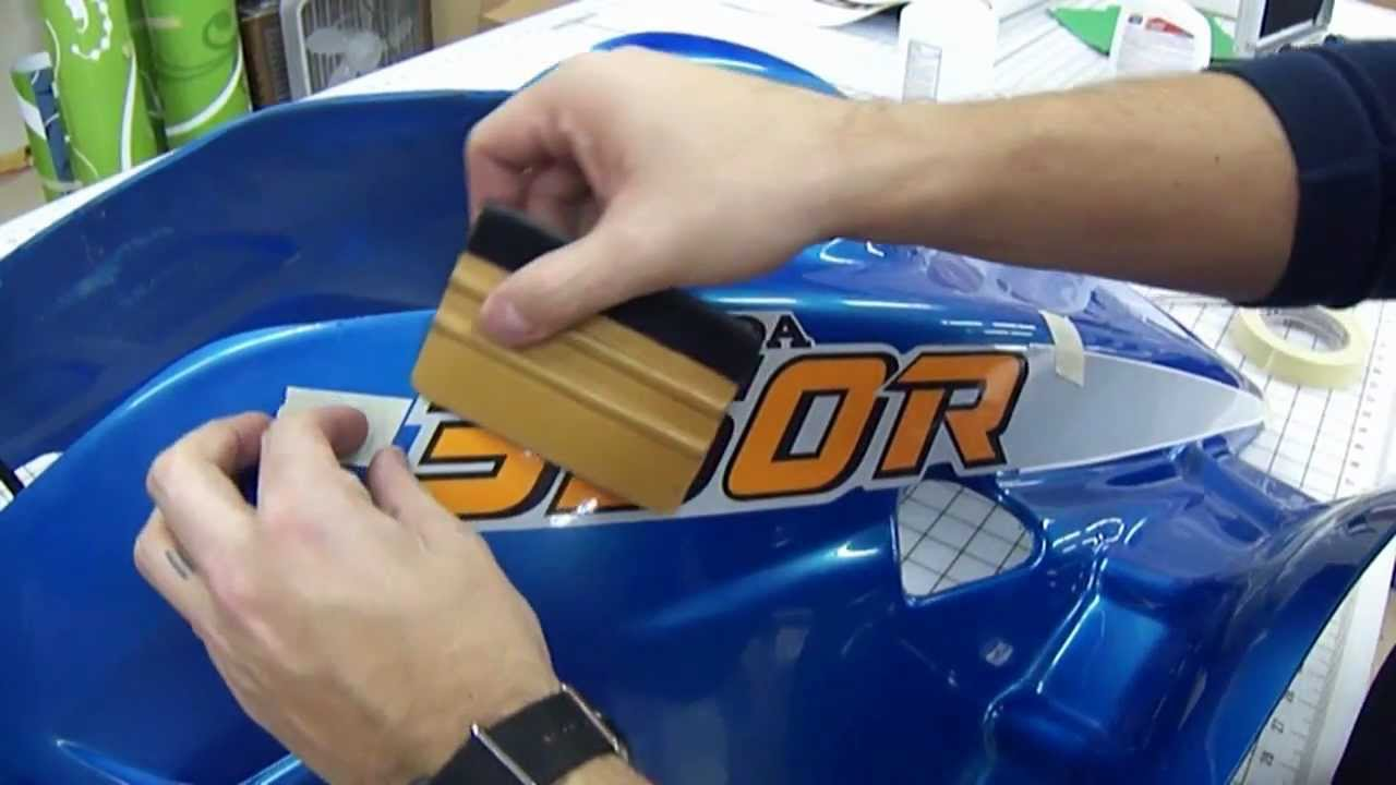 Decal Installation Honda Atv Quad Doovi