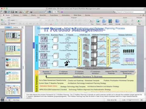 2015 02 03 19 10 Part 1 -  Project Portfolio Management and Governance   Using 5 Pillars of IASA