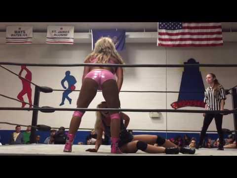 Maria Manic Penelope Ford Hybrid Wrestling Fam Cam