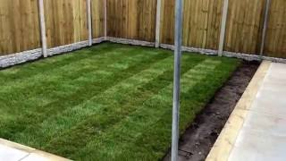 Landscaping job in Bradwell