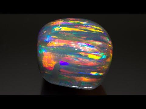 The Rainbow Serpent Opal Gem Authentication -  blackopaldirect.com