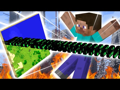 How 3D Minecraft Maps DESTROYED 2b2t