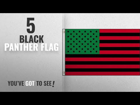 Top 10 Black Panther Flag [2018]: 3x5 USA Afro American Flag House Banner Grommets Black Lives