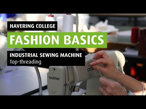 HOW TO: Thread an Industrial Sewing Machine