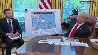 Did President Trump break the law by showing altered hurricane forecast?