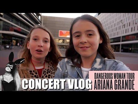 NAAR HET CONCERT VAN ARIANA GRANDE! | DANGEROUS WOMAN TOUR VLOG