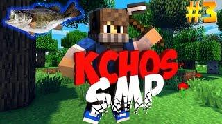 Minecraft : KChos SMP - Επεισόδιο 3 - ΤΟ ΨΑΡΑΔΙΚΟ ΤΟΥ BRAGG