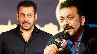 Sanjay Dutt Reaction On HUGE FIGHT With Salman Khan