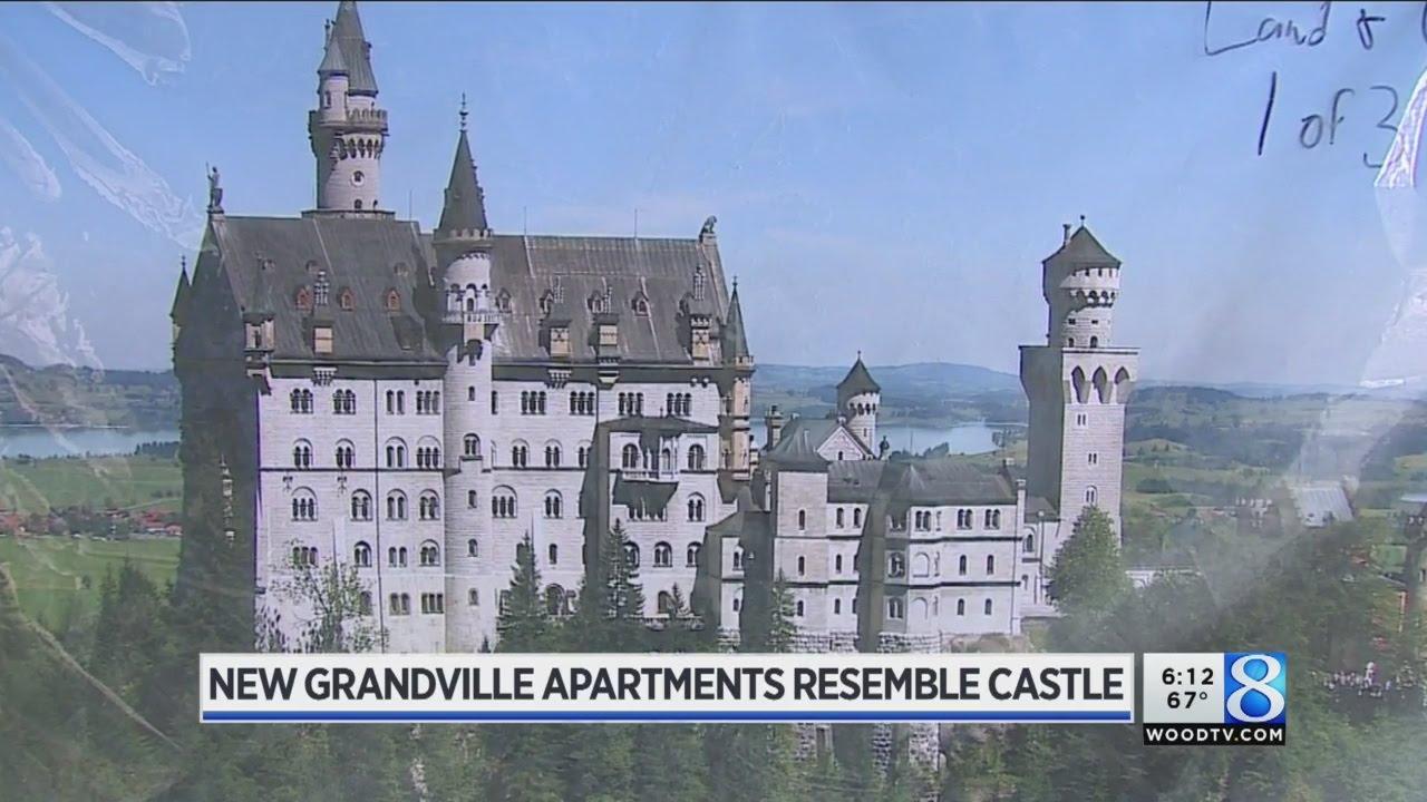 Grand Castle Apartments Rising In Grandville
