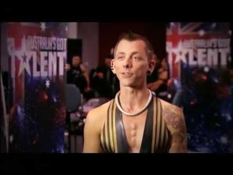 Space Cowboy Breaks World Record - Australia's Got Talent 2012 audition 5 [FULL]