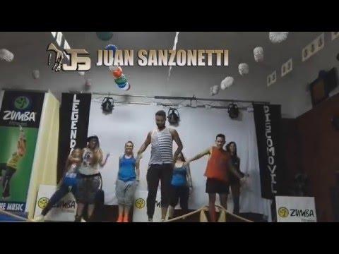 Vuelve  ESPAÑA Juan Magan ft Paulina Rubio, DCS  Coreografia Juan Sanzonetti