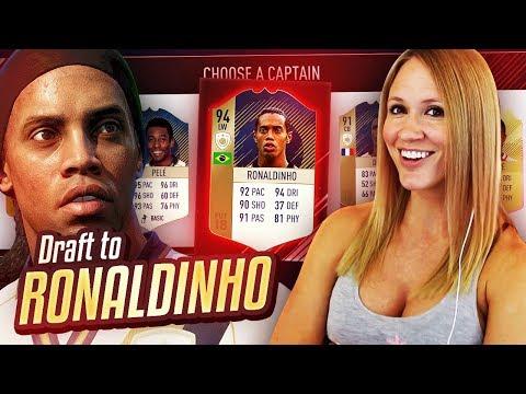 OMG! I GOT RONALDINHO! | DRAFT TO RONALDINHO #3 | FIFA 18
