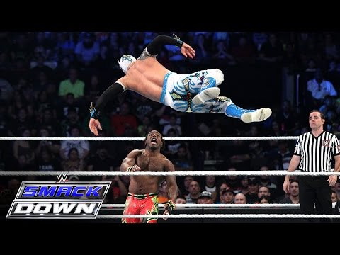 Neville & The Lucha Dragons vs. The New Day: SmackDown, Sept. 24, 2015