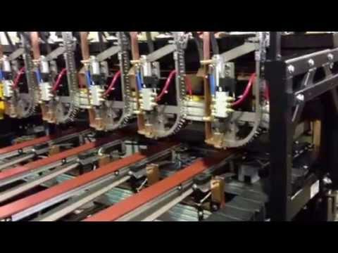 Delta Sheet Metal High Speed MultiHead at 50 ft/min