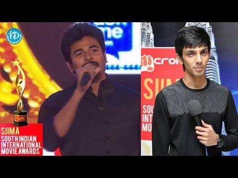 SIIMA 2014 || Tamil Best Music Director Tamil || Anirudh