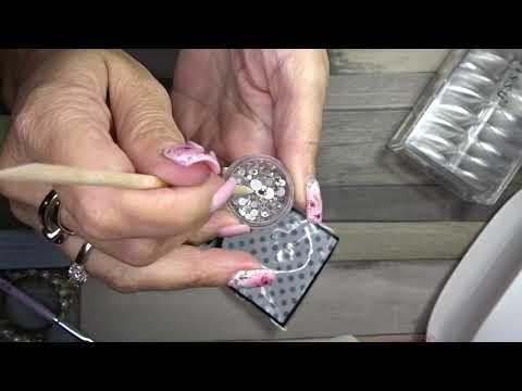 Missu Nails Haul - Flexi Pess Tips E Mix Cristalli Per Nail Art | TittiBi