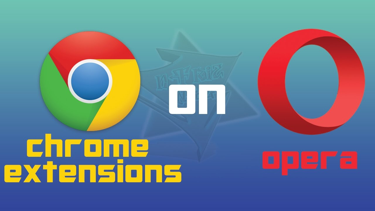 How to use Chrome extensions on Opera