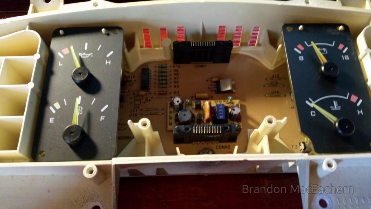 Fixing a 94 caprice vfd speedometer