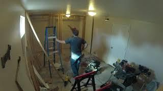 Time Lapse Closet Build