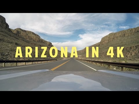 A Drive Through Arizona | 4K GoPro Footage