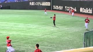 2013.7.24 巨人vs広島 ペナントレース後半戦開幕試合!! 広島カープ 大...