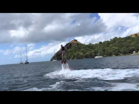 Flyboarding in Saint Lucia