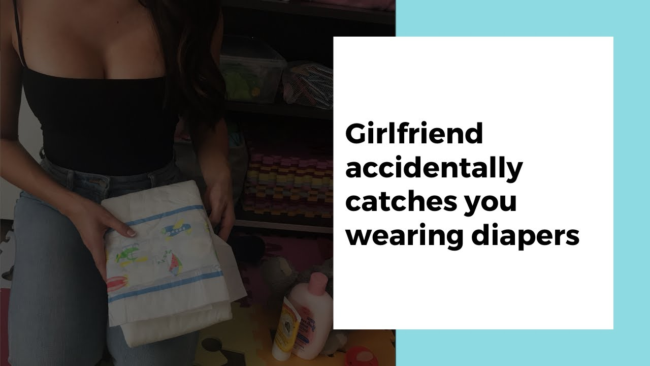 AB/DL audio role-play teaser: Girlfriend accidentally catches you wearing diapers