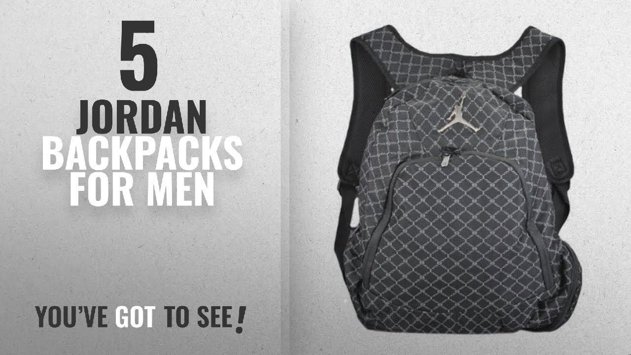 753233a1fbbf0d Jordan Backpacks For Men  2018 Best Sellers   Nike Jordan Jumpman 23 ...