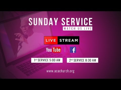 Sunday Service - 1 | 6 Jan 2019 [Live Stream]
