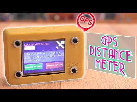 GPS Distance And Altitude Meter