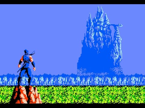 scene introduction ninja gaiden 1988