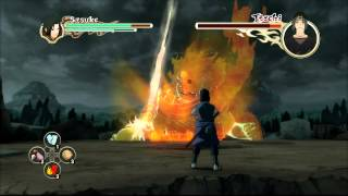 Naruto Shippuden: Ultimate Ninja Storm 2 - Sasuke vs Itachi Boss Battle [PS3]