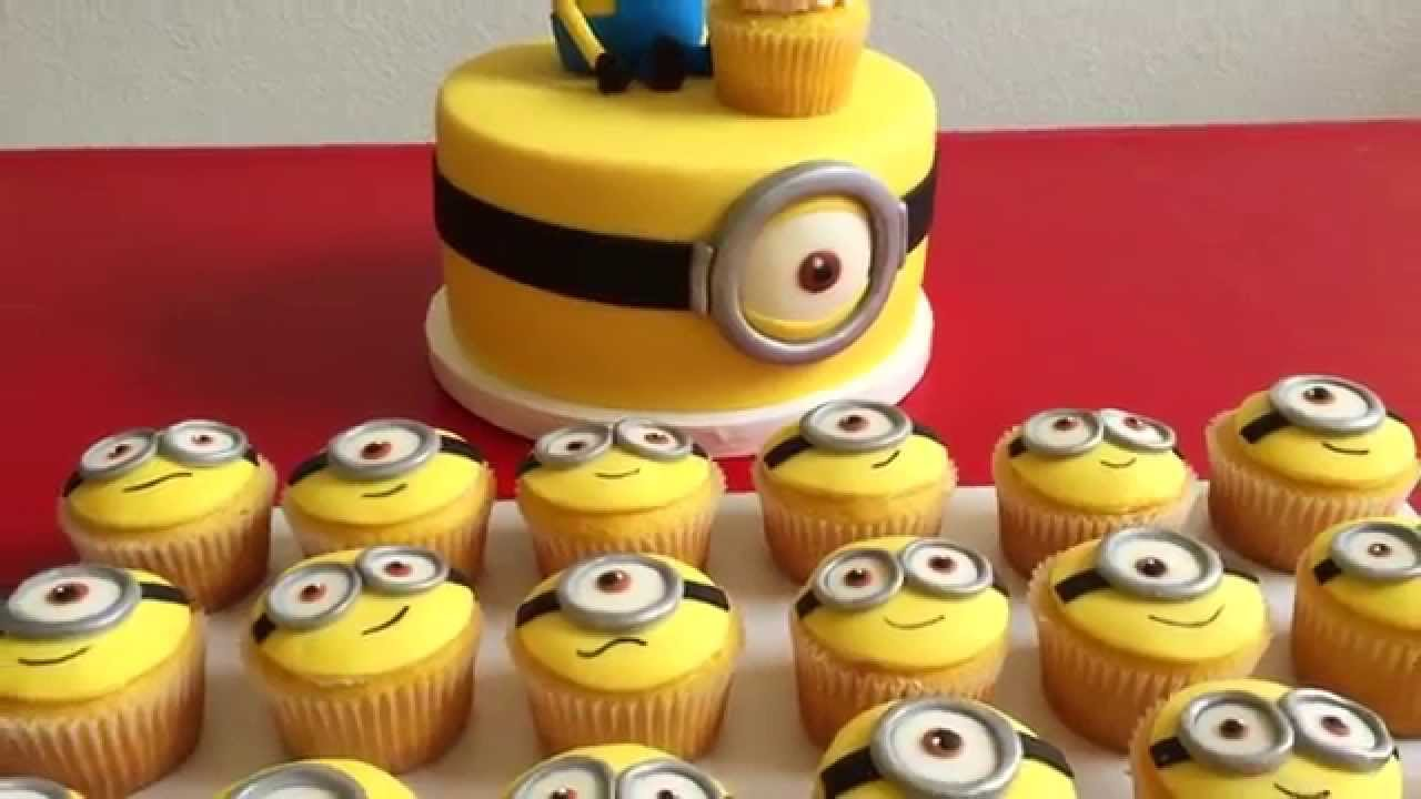 Cake Couture Fondant Minion Cake Project Youtube