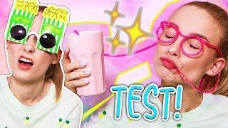 TEST!  Śmieszne okulary z Aliexpress   CHINA POST