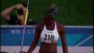 IAAF World Junior Championships, Moncton 2010 Javelin Women finals & Intro 100m women finals