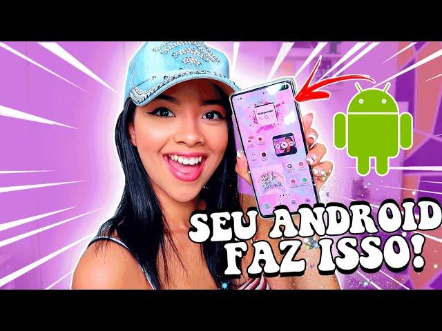 OLHA ISSO!! 11 TRUQUES/FUNÇÕES QUE SEU CELULAR ANDROID FAZ!! - SAMSUNG