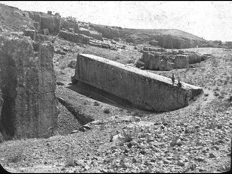 Ancient photos of Baalbek