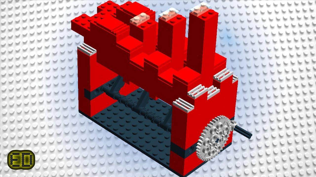 Lego GBC Stair Module Instructions / Tutorial