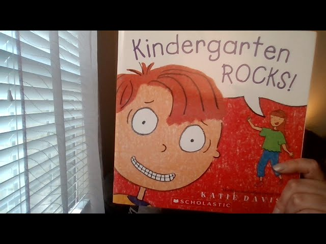 Book of the Day: Kindergarten Rocks!