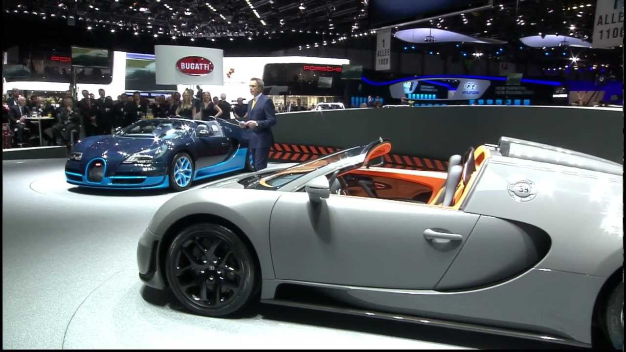 Bugatti Veyron 16.4 Grand Sport Vitesse premiere at Geneva Motor Show | March 2012