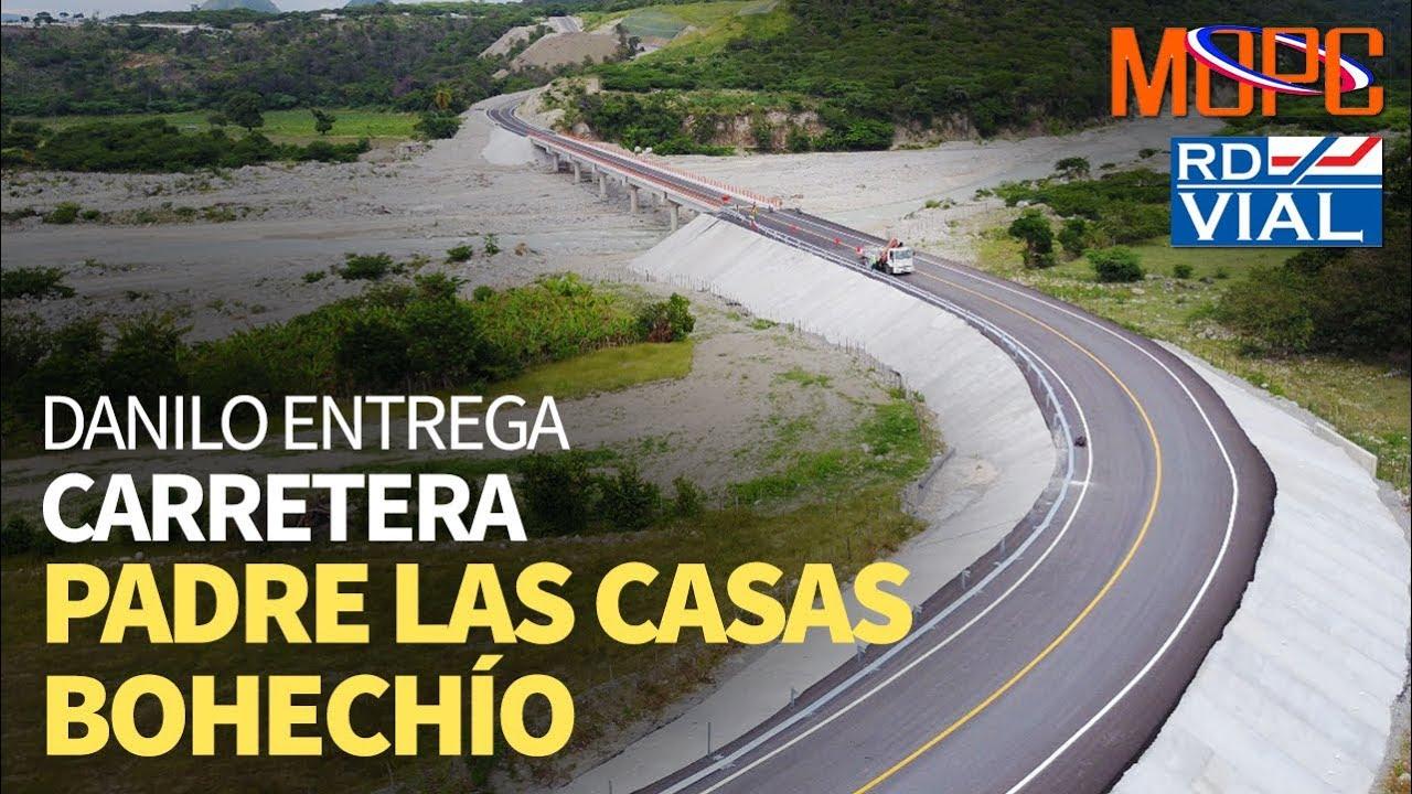 Resultado de imagen para carretera Padre Las Casas-bohechio