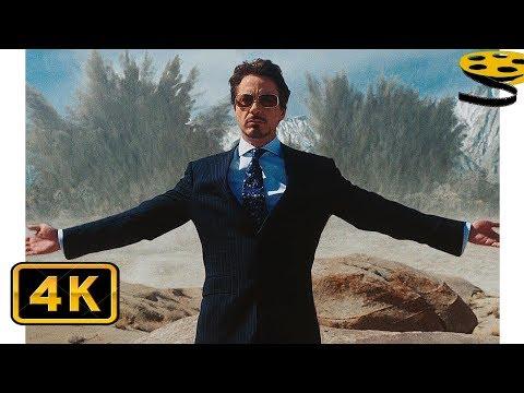 Тони Старк демонстрирует Оружие Иерихон | Железный человек (2008) HD