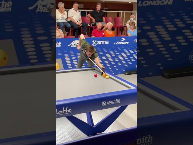 Billard challenge cup Eddy Merckx vs Gwendal Maréchal - 3-cushion billiards challenge cup Kozoom 3C
