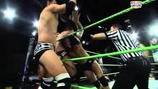Seth Rollins, Derrick Bateman & Johnny Curtis vs Antonio Cesaro, Dean Ambrose & Damien Sandow