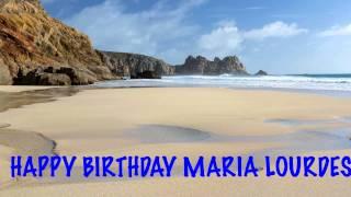 MariaLourdes   Beaches Playas - Happy Birthday