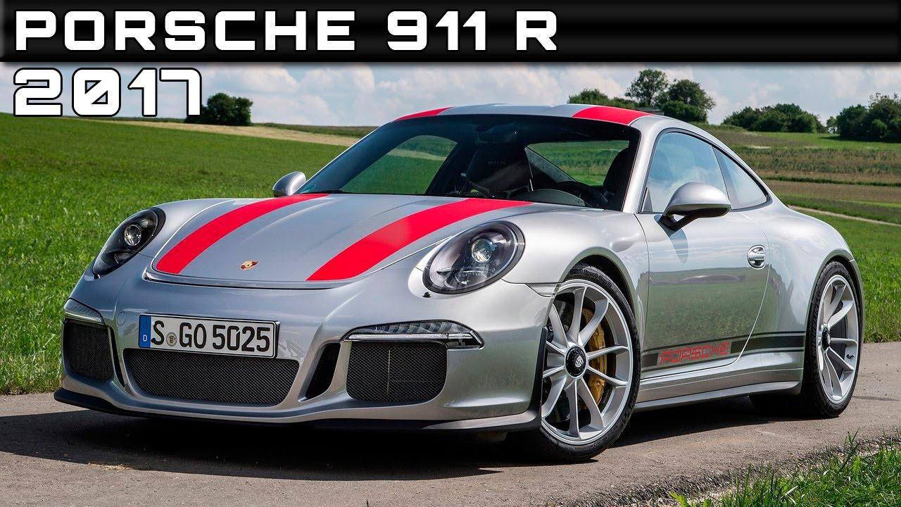 2017 Porsche 911 R Review Rendered Price Specs Release Date